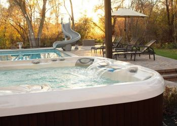 sundance-hot-tub-deck-installation-pool-slide-Amherst